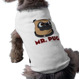 Mr. Pug Dog Shirt