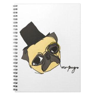 Mr Pug Notebook