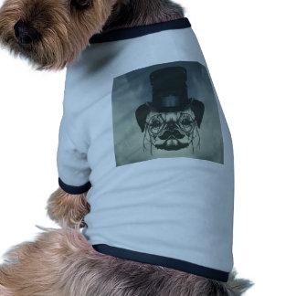 Mr. Pug Ringer Dog Shirt