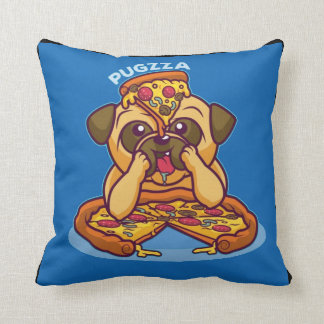 Mr. Pugzza the Pizza Pug Cushion
