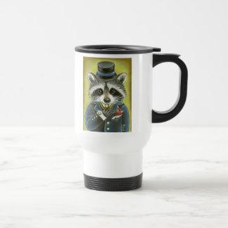 Mr Raccoon Travel Mug
