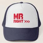 Mr Right Arrows Self-Esteem Summer Party Cap