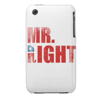 MR. RIGHT iPhone 3 COVERS