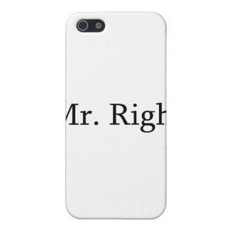Mr. Right iPhone 5 Cover