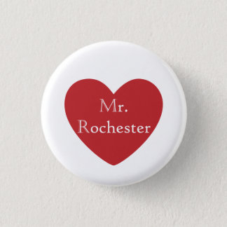 Mr. Rochester 3 Cm Round Badge