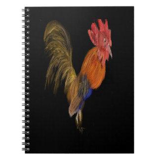 Mr. Rooster Spiral Notebook