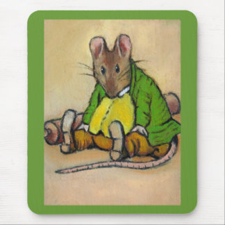 MR. SAMUEL WHISKERS, AFTER BEATRIX POTTER MOUSE MAT