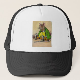 MR. SAMUEL WHISKERS, AFTER BEATRIX POTTER TRUCKER HAT