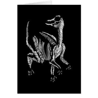 Mr Segnosaurus Greeting Card