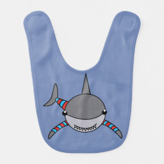 Mr Shark Bib, Cute Shark Bib