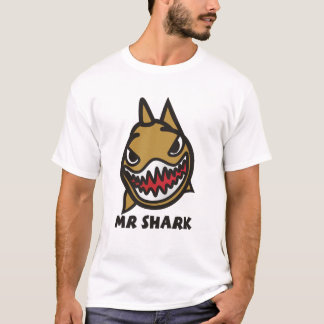 mr shark cool style t-shirt