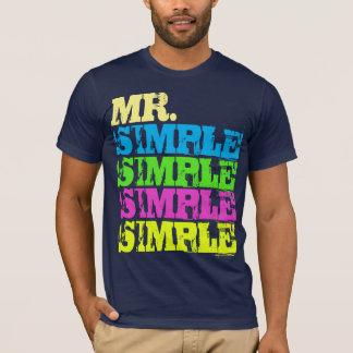 Mr. Simple T-Shirt