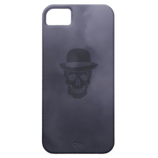 Mr. Skull on smoke iPhone 5 Case