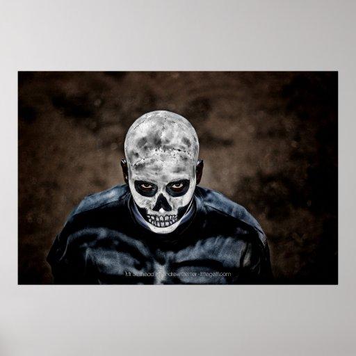 'Mr. Skullhead' by Andrew Gettler Print