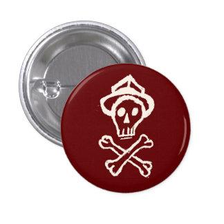 Mr. Skullington - Bloody Red 3 Cm Round Badge