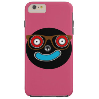 mr smiley face with glasses iPhone 6 Plus Case