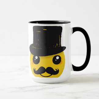 Mr Smiley Mustache mug