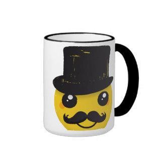 Mr Smiley Mustache mug