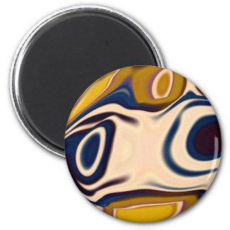 Mr Smily Blink 6 Cm Round Magnet