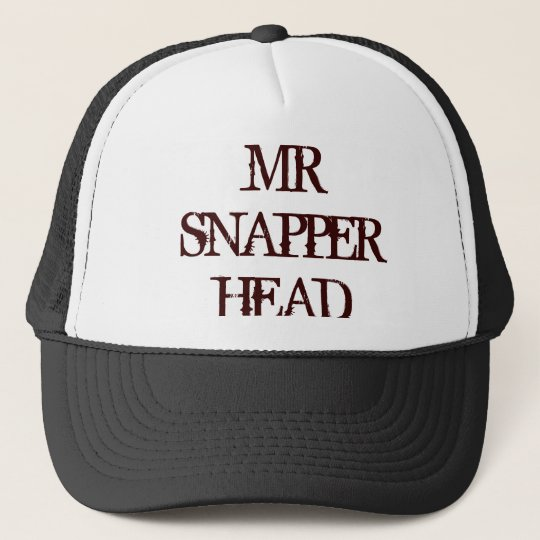 MR SNAPPER HEAD CAP