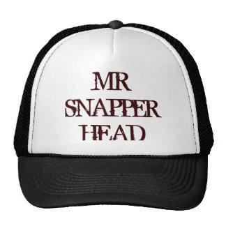 MR SNAPPER HEAD CAP