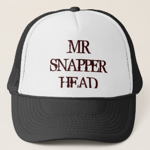 MR SNAPPER HEAD TRUCKER HAT