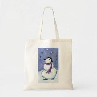 Mr.Snow Budget Tote Bag