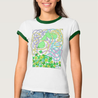 Mr. Squiggly St. Pat's Tee Shirts