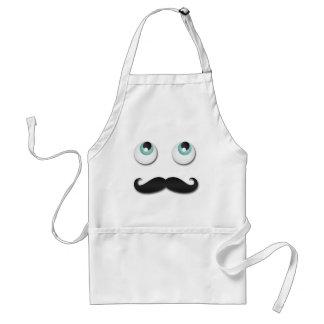 Mr. stache standard apron