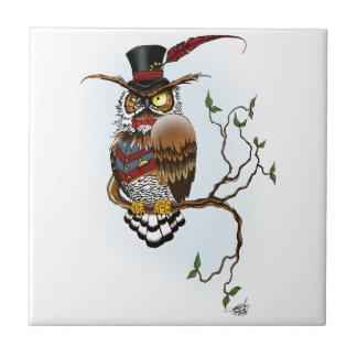 Mr. Steam Owl Tile