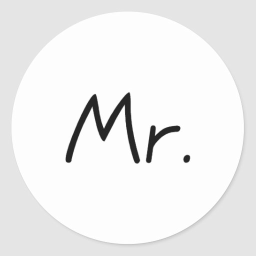 Mr. Stickers