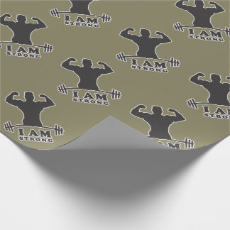 Mr. Strong Wrapping Paper