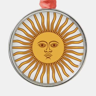 Mr Sun Christmas Ornament