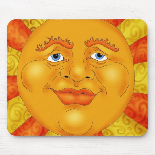 Mr. Sun Mouse Mat