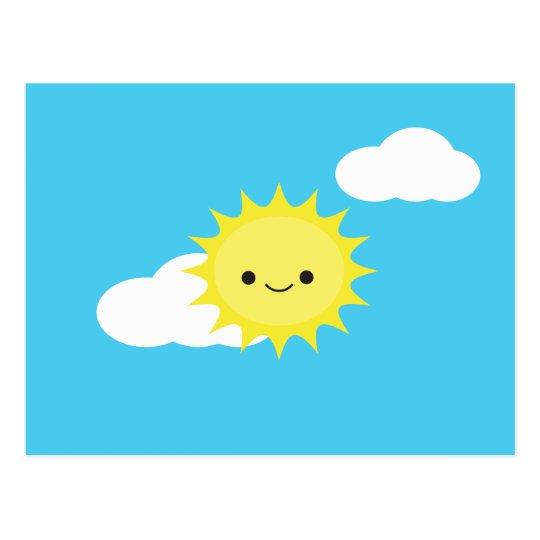 Mr. Sun Postcard