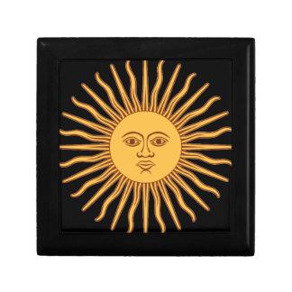 Mr Sun Small Square Gift Box