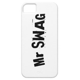 Mr SWAG iphone case