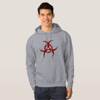 Mr. T 's Personal Red Training Biohazard Hoodie