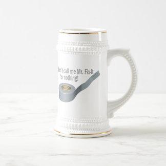 Mr Tape Fix It Beer Stein