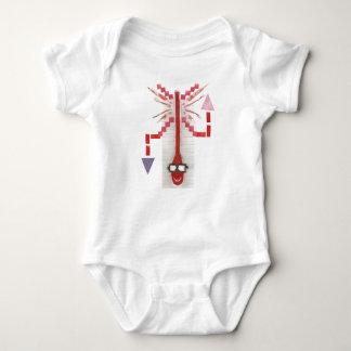 Mr Thermostat No Background Babygro Baby Bodysuit