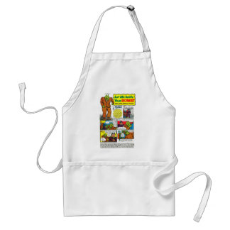 Mr. Toad  will change your life! Adult Apron