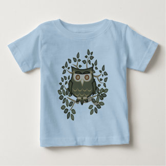 Mr Toot .. the owl Baby T-Shirt