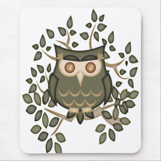 Mr Toot .. the owl Mousepad