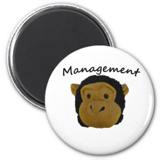Mr.Trouble. Management Badges 6 Cm Round Magnet