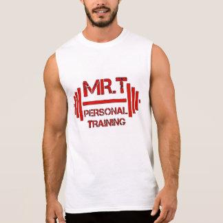 Mr.T's Personal Training HALLOWED BE THY GAINZ Sleeveless Shirt
