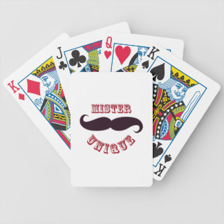 Mr Unique Bicycle Playing Cards