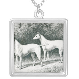 Mr. Vero Shaw's White English Terriers Silver Plated Necklace