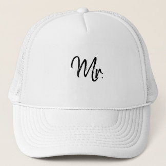 Mr. Wedding hat