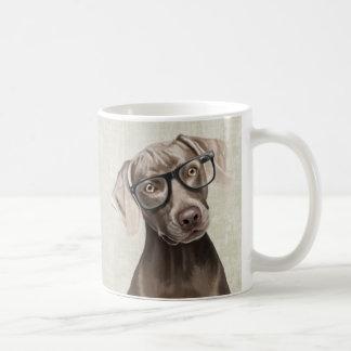 Mr Weimaraner Basic White Mug