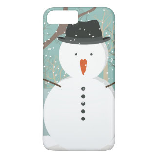 Mr. Winter Snowman iPhone 8 Plus/7 Plus Case